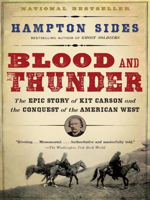 cover image of Blood and Thunder