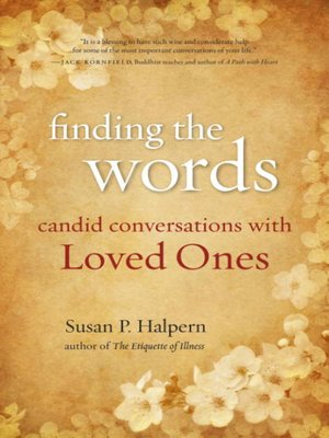cover image of Finding the Words