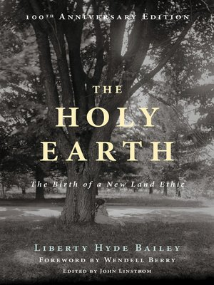 cover image of The Holy Earth