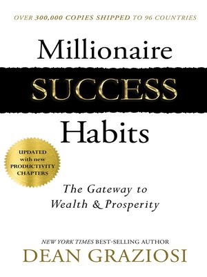 cover image of Millionaire Success Habits