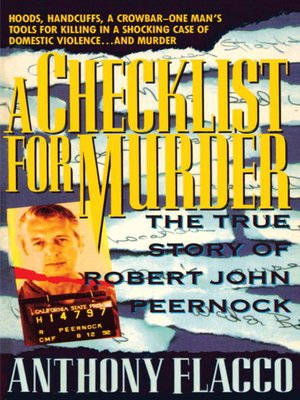cover image of A Checklist for Murder