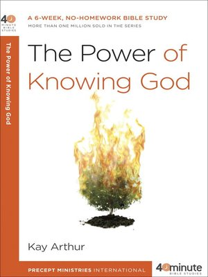 cover image of The Power of Knowing God