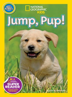 cover image of National Geographic Readers: Jump Pup!