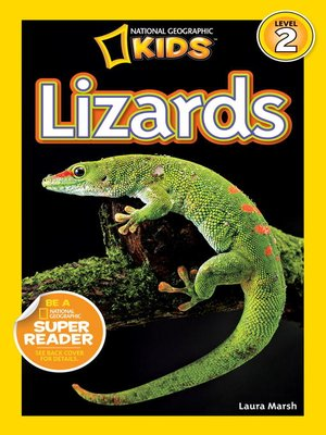 cover image of National Geographic Readers: Lizards