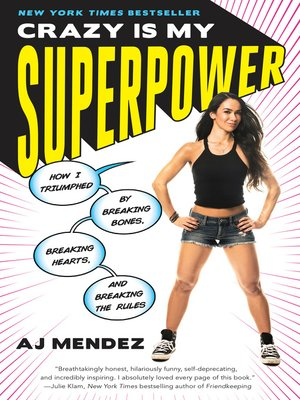 cover image of Crazy Is My Superpower