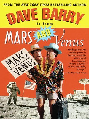cover image of Dave Barry Is from Mars and Venus