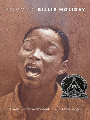 cover image of Becoming Billie Holiday