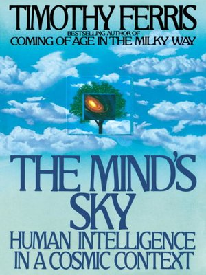 cover image of The Mind's Sky