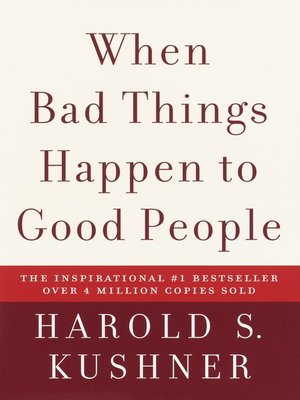 cover image of When Bad Things Happen to Good People