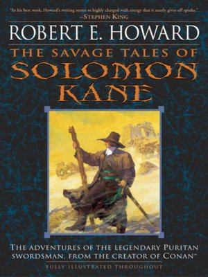 cover image of The Savage Tales of Solomon Kane