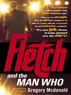cover image of Fletch and the Man Who