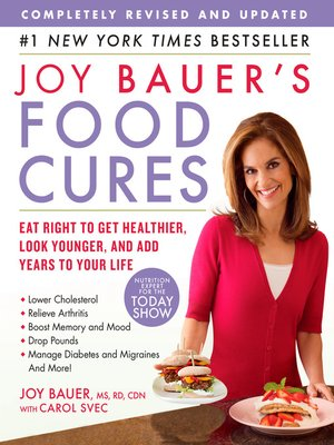 cover image of Joy Bauer's Food Cures