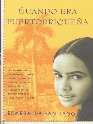 cover image of Cuando era puertorriqueña