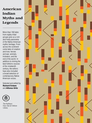 cover image of American Indian Myths and Legends