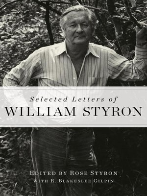cover image of Selected Letters of William Styron