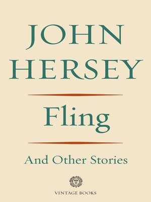 cover image of Fling and Other Stories