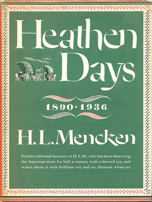 cover image of Heathen Days