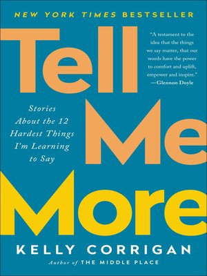 cover image of Tell Me More