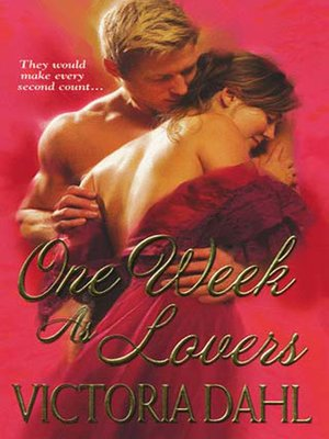 cover image of One Week As Lovers