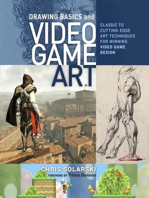 cover image of Drawing Basics and Video Game Art