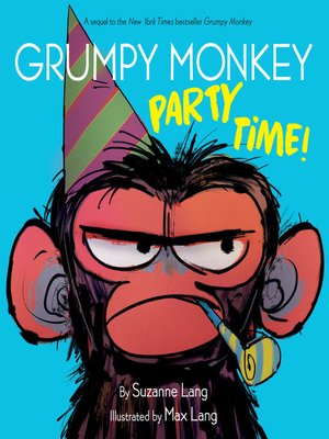 cover image of Grumpy Monkey Party Time!