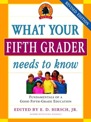 cover image of What Your Fifth Grader Needs to Know