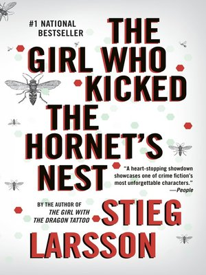 cover image of The Girl Who Kicked the Hornet's Nest