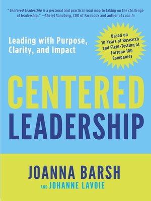 cover image of Centered Leadership