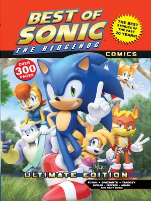 cover image of The Best of Sonic the Hedgehog Comics