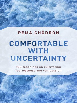 cover image of Comfortable with Uncertainty