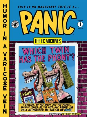 cover image of Panic (1954), Volume 1