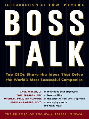 cover image of Boss Talk