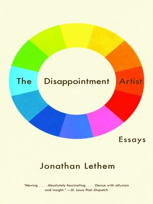 cover image of The Disappointment Artist