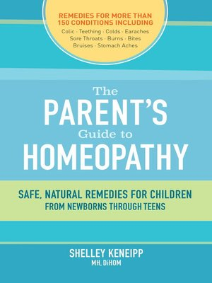 cover image of The Parent's Guide to Homeopathy