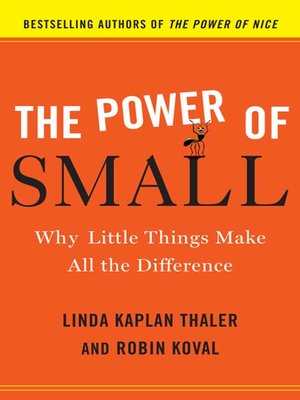 cover image of The Power of Small