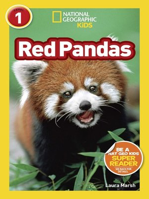 cover image of National Geographic Readers: Red Pandas