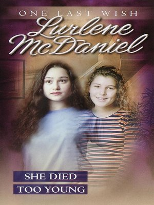 cover image of She Died Too Young