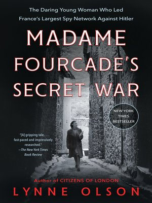 cover image of Madame Fourcade's Secret War