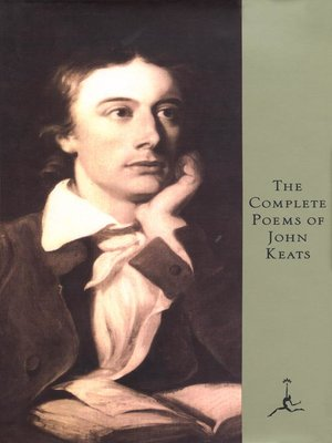 cover image of The Complete Poems of John Keats