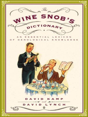 cover image of The Wine Snob's Dictionary