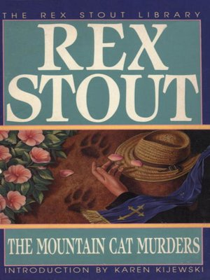 cover image of The Mountain Cat Murders