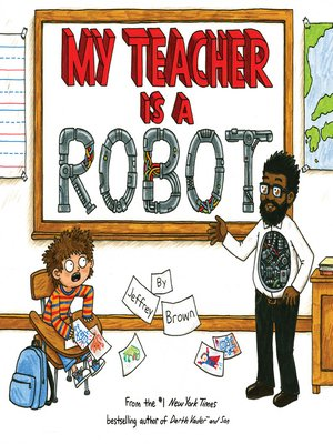 cover image of My Teacher is a Robot