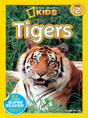 cover image of National Geographic Readers: Tigers