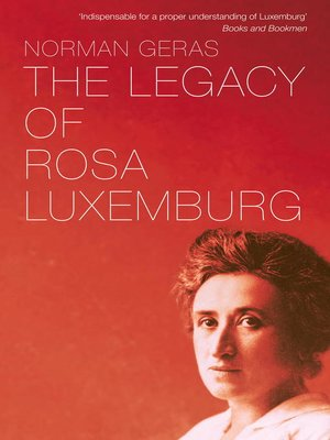 cover image of The Legacy of Rosa Luxemburg