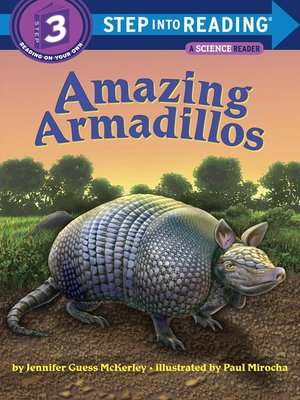 cover image of Amazing Armadillos
