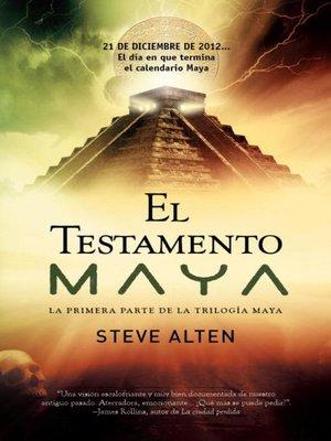 cover image of El testamento Maya