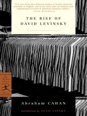 cover image of The Rise of David Levinsky