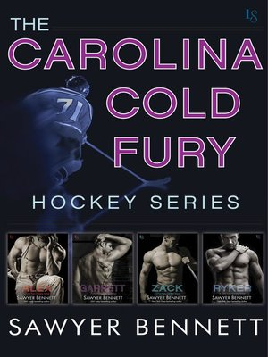 cover image of The Carolina Cold Fury Hockey Series 4-Book Bundle