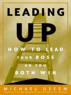 cover image of Leading Up