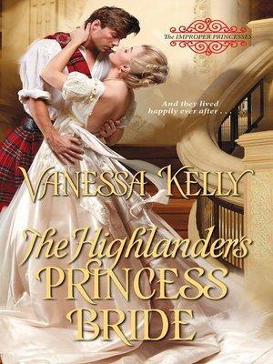 cover image of The Highlander's Princess Bride